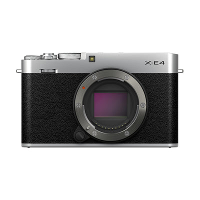 Fujifilm X-E4 Digital Camera Body (Silver)