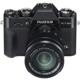 Fujifilm X-T20 Body with XC 16-50mm Lens Kit (Black), camera mirrorless cameras, Fujifilm - Pictureline  - 1