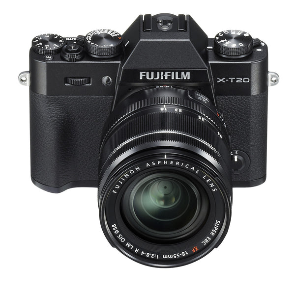 Fujifilm X-T20 Body with XF 18-55mm Lens Kit (Black), camera mirrorless cameras, Fujifilm - Pictureline  - 1
