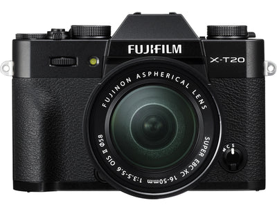 Fujifilm X-T20 Body with XC 16-50mm Lens Kit (Black), camera mirrorless cameras, Fujifilm - Pictureline  - 2