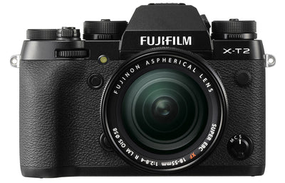 Fujifilm X-T2 Digital Camera w/ 18-55mm Lens Kit (Black), camera mirrorless cameras, Fujifilm - Pictureline  - 1