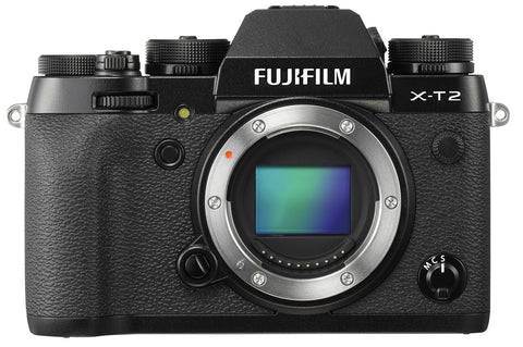 Fujifilm X-T2 Digital Camera Body (Black), camera mirrorless cameras, Fujifilm - Pictureline  - 1
