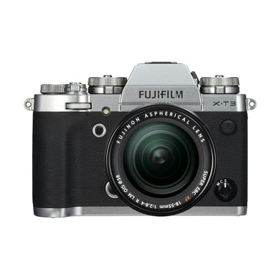 Fujifilm X-T3 Digital Camera w/18-55mm Lens Kit (Silver)