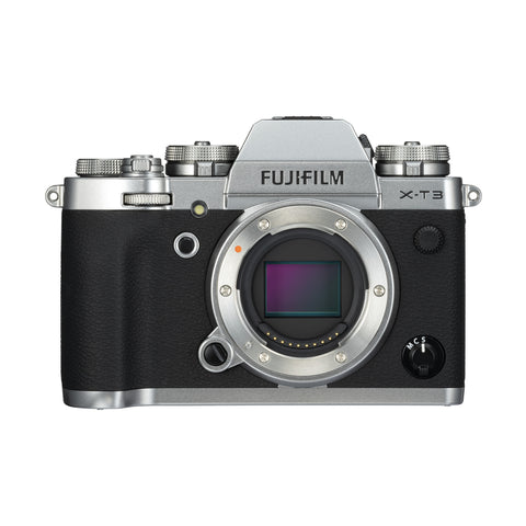 Fujifilm X-T3 Digital Camera Body (Silver)