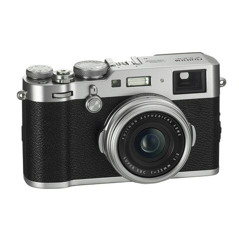 Fujifilm X100F Digital Camera (Silver), camera point & shoot cameras, Fujifilm - Pictureline  - 1