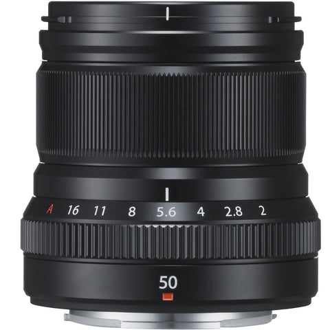 Fujifilm XF 50mm F2 R WR Lens (Black), lenses mirrorless, Fujifilm - Pictureline  - 1