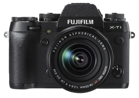 Fujifilm X-T1 Digital Camera w/ 18-55mm Lens Kit (Black), camera mirrorless cameras, Fujifilm - Pictureline  - 1