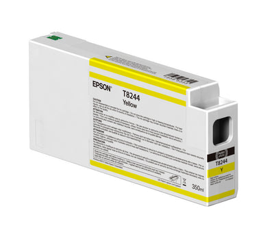 Epson T824400 P6000/P7000/P8000/P9000 Ultrachrome HD Ink 350ml Yellow, papers ink large format, Epson - Pictureline