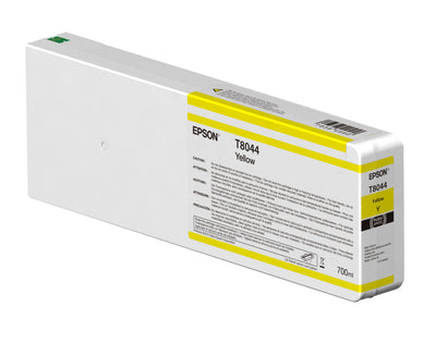 Epson T804400 P6000/P7000/P8000/P9000 Ultrachrome HD Ink 700ml Yellow, papers ink large format, Epson - Pictureline