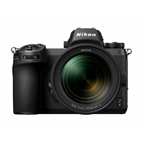 Nikon Z6 Mirrorless Camera Body w/ NIKKOR Z 24-70mm f/4 S