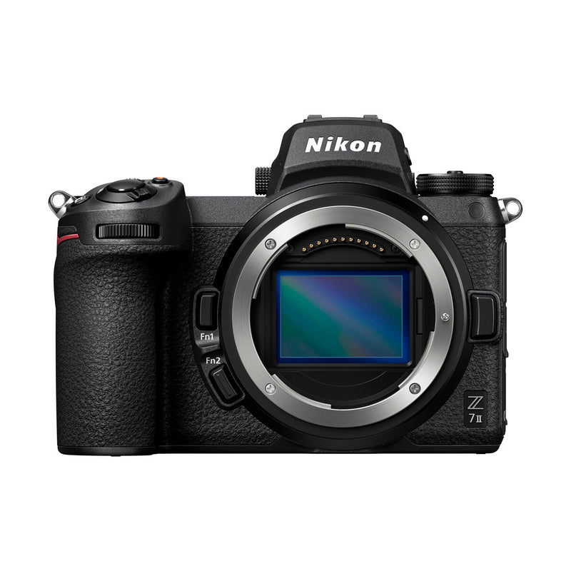 The nikon z7 mark II is available online at pictureline