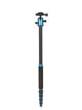MeFOTO RoadTrip Travel Tripod Kit (Blue), tripods travel & compact, MeFOTO - Pictureline  - 3