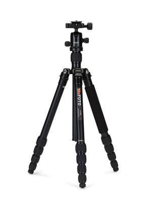 MeFOTO RoadTrip Travel Tripod Kit (Black), tripods travel & compact, MeFOTO - Pictureline  - 1