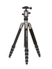 MeFOTO RoadTrip Travel Tripod Kit (Titanium)