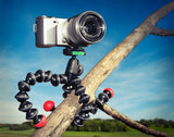Joby GorillaPod Action Tripod with Mount for GoPro (Black/Red), video gopro mounts, Joby - Pictureline  - 7