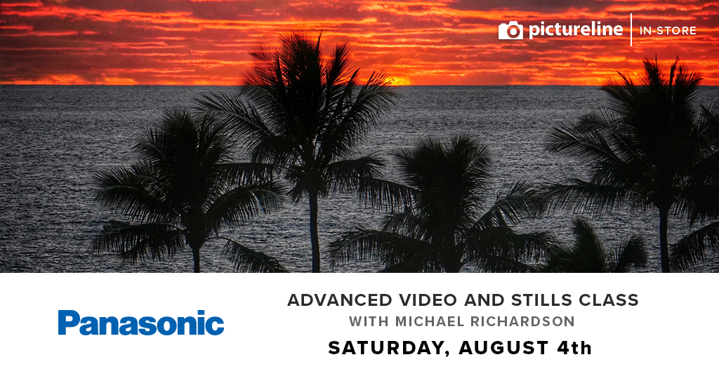 Advanced Video and Stills Class with Michael Richardson (August 4th, Saturday)