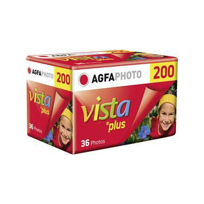 AgfaPhoto Vista Plus 200 135-36 Film (One Roll), camera film, Agfa - Pictureline