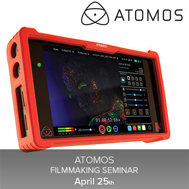 Atomos Filmmaking Seminar (April 25th), events - past, Pictureline - Pictureline