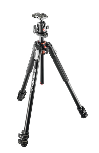 Manfrotto MK190 XPRO3 w/496RC2, tripods photo tripods, Manfrotto - Pictureline