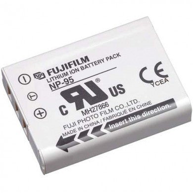 Fujifilm NP-95 Battery, camera batteries & chargers, Fujifilm - Pictureline