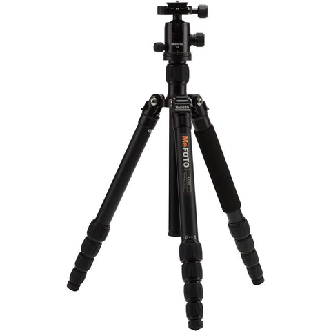 MeFOTO GlobeTrotter Aluminum Travel Tripod Kit (Black), tripods travel & compact, MeFOTO - Pictureline  - 1