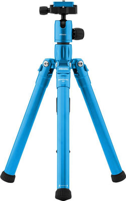 MeFOTO BackPacker Air Tripod Kit (Blue), tripods travel & compact, MeFOTO - Pictureline  - 1
