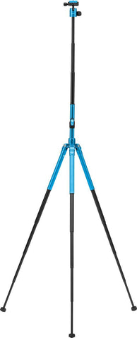 MeFOTO GlobeTrotter Air Travel Tripod Kit (Blue), tripods travel & compact, MeFOTO - Pictureline  - 1