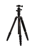 MeFOTO RoadTrip Carbon Fiber Travel Tripod Kit (Black), tripods travel & compact, MeFOTO - Pictureline  - 1