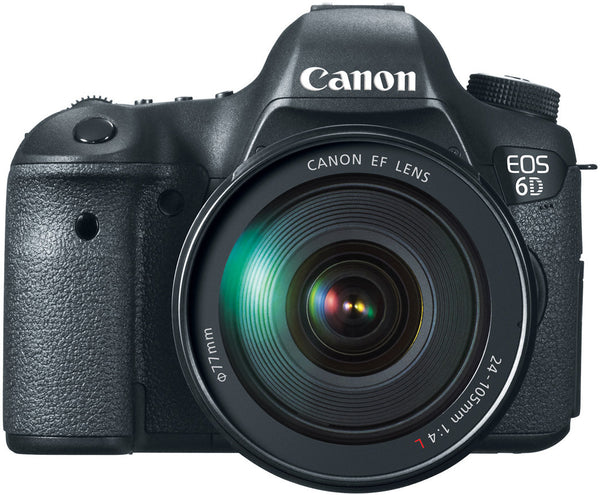 Canon EOS 6D EF 24-105mm L IS USM Digital Camera Kit, camera dslr cameras, Canon - Pictureline  - 1