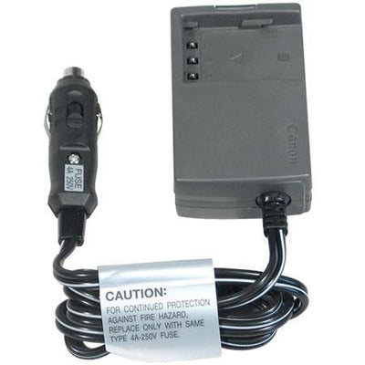 Canon CBC-NB2 Car Battery Adapter, video batteries & chargers, Canon - Pictureline