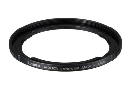 Canon FA-DC67A Filter Adapter, lenses filter adapters, Canon - Pictureline