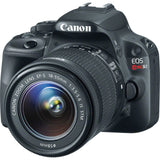 Canon EOS Rebel SL1 DSLR Camera with EF-S 18-55mm IS STM Lens (Black), discontinued, Canon - Pictureline  - 5