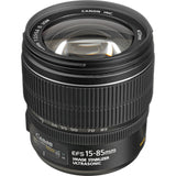 Canon EF-S 15-85mm f3.5-5.6 IS USM Lens, lenses slr lenses, Canon - Pictureline  - 2