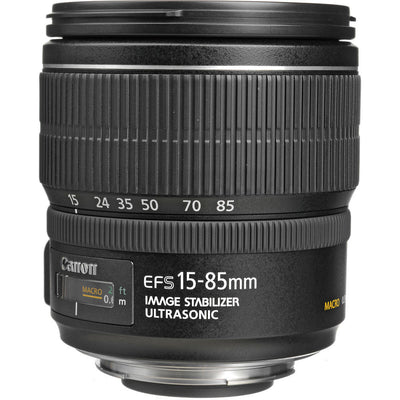Canon EF-S 15-85mm f3.5-5.6 IS USM Lens, lenses slr lenses, Canon - Pictureline  - 1