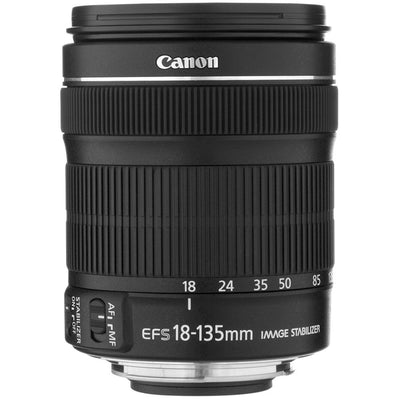 Canon EF-S 18-135mm f3.5-5.6 IS STM Lens, discontinued, Canon - Pictureline  - 1