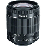 Canon EF-S 18-55mm f3.5-5.6 IS STM Lens, lenses slr lenses, Canon - Pictureline  - 2