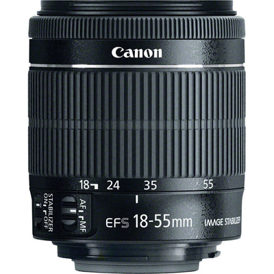 Canon EF-S 18-55mm f3.5-5.6 IS STM Lens, lenses slr lenses, Canon - Pictureline  - 1