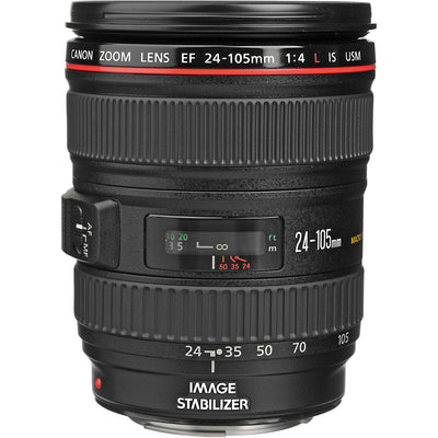 Canon EF 24-105mm f4L IS USM Lens, discontinued, Canon - Pictureline  - 1