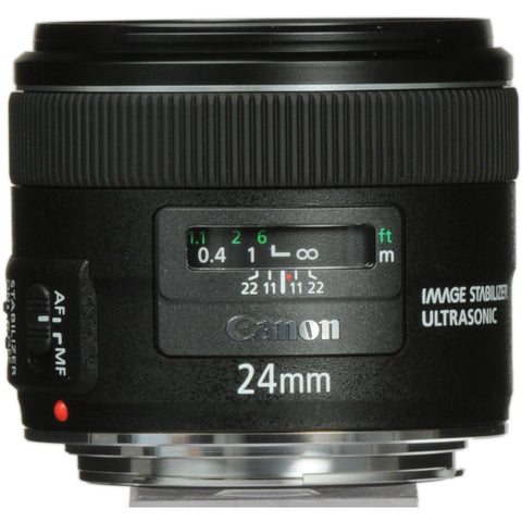 Canon EF 24mm f2.8 IS USM Lens, lenses slr lenses, Canon - Pictureline  - 1