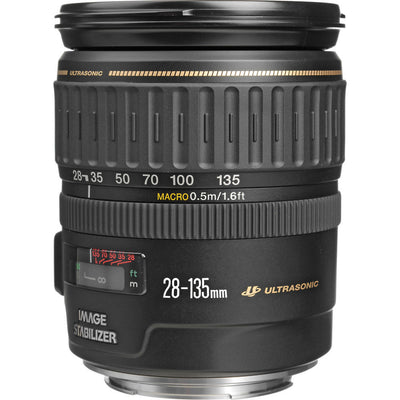 Canon EF 28-135mm f3.5-5.6 IS USM Lens, discontinued, Canon - Pictureline  - 1