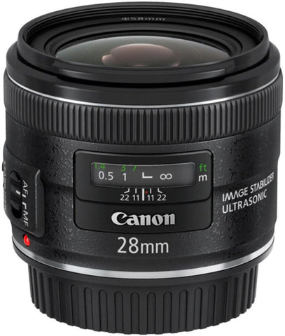 Canon EF 28mm f2.8 IS USM Lens, lenses slr lenses, Canon - Pictureline