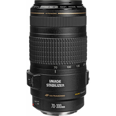 Canon EF 70-300mm f4-5.6 IS USM Lens, discontinued, Canon - Pictureline  - 1