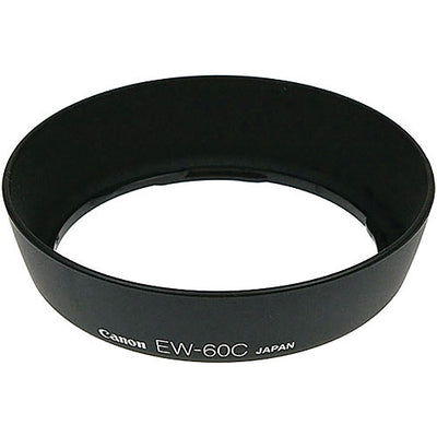Canon EW-60C Lens Hood for EF 28-80mm f/3.5-5.6, II, III, IV, V, 18-55mm and 28-90mm Lenses, lenses hoods, Canon - Pictureline
