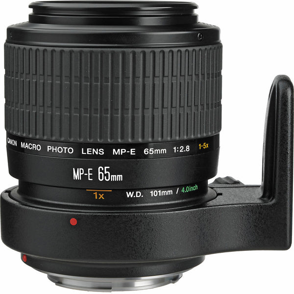 Canon Macro Photo MP-E 65mm f/2.8 1-5x Macro Lens, lenses slr lenses, Canon - Pictureline  - 1