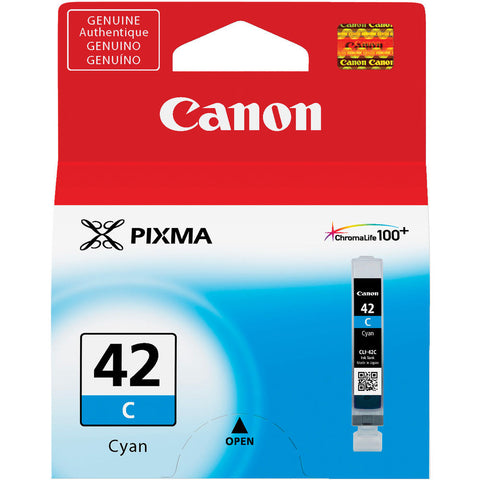 Canon CLI-42 Cyan Ink Cartridge, printers ink small format, Canon - Pictureline