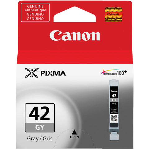 Canon CLI-42 Gray Ink Cartridge, printers ink small format, Canon - Pictureline