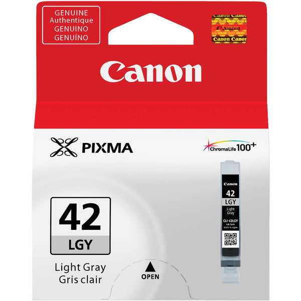 Canon CLI-42 Light Gray Ink Cartridge, printers ink small format, Canon - Pictureline