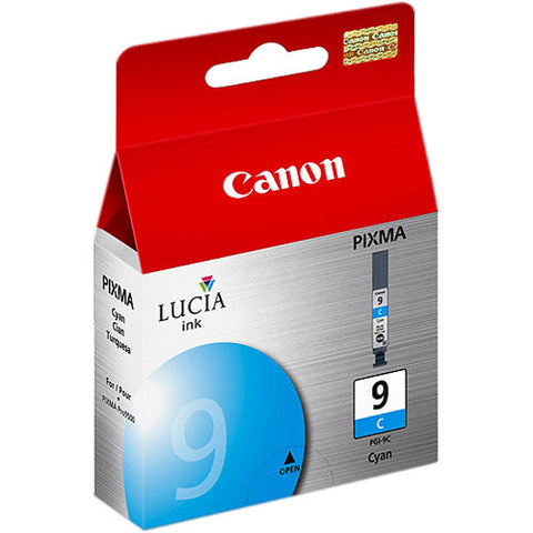 Canon LUCIA PGI-9 Cyan Ink Tank, printers ink small format, Canon - Pictureline