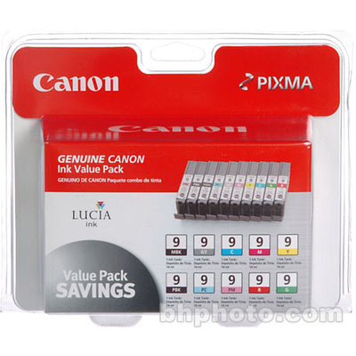 Canon LUCIA PGI-9 Ink Cartridge 10-Pack, printers ink small format, Canon - Pictureline