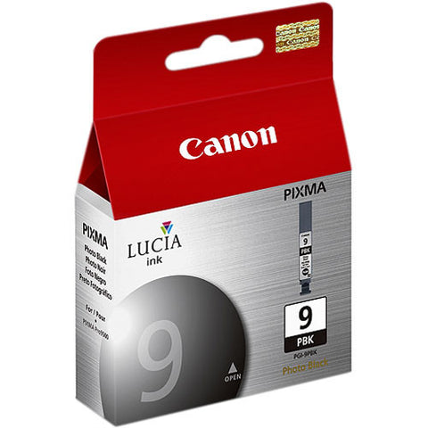 Canon LUCIA PGI-9 Photo Black Ink Tank, printers ink small format, Canon - Pictureline
